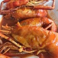 Gerai Makan Azizah Udang Galah Restaurante Malayo