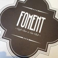 Foto tomada en Foment Café & Bar - Gin Club por Divino B. el 12/21/2013