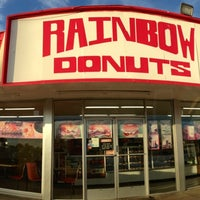Photo taken at Rainbow Donuts by Joe? H. on 6/22/2013