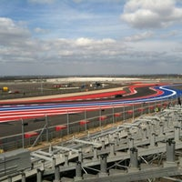 Foto tirada no(a) Circuit of The Americas por Kristen D. em 12/8/2012