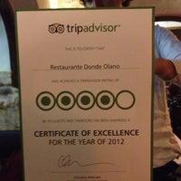 9/28/2012에 Emiliano M.님이 Donde Olano Restaurante에서 찍은 사진
