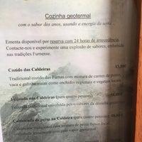 Foto tirada no(a) Restaurante Caldeiras & Vulcões por Sergio M. em 4/29/2015