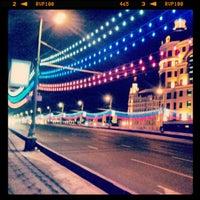 Photo prise au Bolshoy Kamenny Bridge par Илья С. le12/22/2012