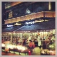 Das Foto wurde bei Faros Restaurant von Kenan A. am 12/28/2012 aufgenommen