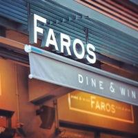 Das Foto wurde bei Faros Restaurant von Kenan A. am 11/25/2012 aufgenommen
