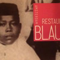 Foto tirada no(a) Restaurant Blauw por Femke N. em 3/7/2015