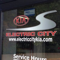 Photo Taken At Electric City Kia By Brad E On 8 28 2017