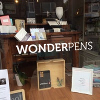 wonder pens stationery store in leslieville