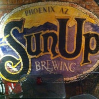 Photo taken at SunUp Brewing Co. by Joseph J. on 1/18/2013