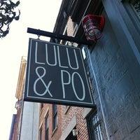 Das Foto wurde bei Lulu & Po von thecoffeebeaners am 8/6/2013 aufgenommen