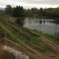 Das Foto wurde bei Blue Mountain Vineyards & Cellars von The Tiny TieRant am 10/6/2012 aufgenommen