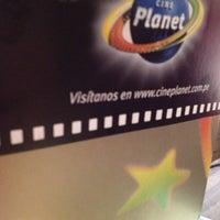 Foto tomada en Cineplanet por Katiuska T. el 11/25/2012