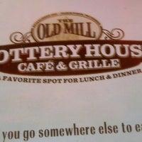 Menu - Old Mill Pottery House Cafe - Café