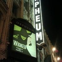 Foto scattata a SHN Orpheum Theatre da Candace D. il 2/1/2013