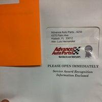 Advance Auto Parts Hialeah Fl
