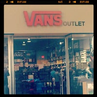 e2c615e6ed ... Photo taken at Vans Outlet by ViN P. on 8 20 2012 ...
