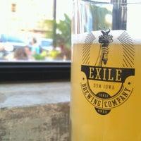 Снимок сделан в Exile Brewing Co. пользователем Romelle S. 8/16/2012