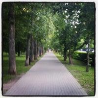 Снимок сделан в Чапаевский парк пользователем Ирина К. 6/19/2012