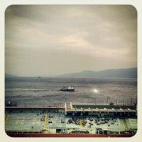 Das Foto wurde bei NK Rijeka - Stadion Kantrida von Josko J. am 7/23/2012 aufgenommen
