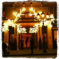Photo prise au Park Hyatt Paris-Vendome par Ultimate Paris le11/29/2011