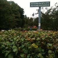 8/19/2012 tarihinde Hendrik M.ziyaretçi tarafından Setterbergin puisto'de çekilen fotoğraf