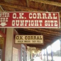 1/8/2012 tarihinde Chris R.ziyaretçi tarafından O.K. Corral'de çekilen fotoğraf
