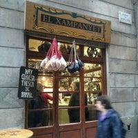 12/15/2011 tarihinde Monna E.ziyaretçi tarafından El Xampanyet'de çekilen fotoğraf