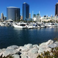 Das Foto wurde bei Embarcadero Marina Park South von Elan am 2/9/2012 aufgenommen