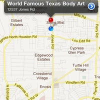 World Famous Texas Body Art 12537 Jones Rd