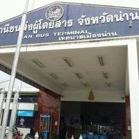 รูปภาพถ่ายที่ สถานีขนส่งผู้โดยสารจังหวัดน่าน โดย Lazy P. เมื่อ 1/30/2012