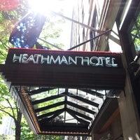 Foto tirada no(a) The Heathman Hotel por Jilla em 8/22/2012
