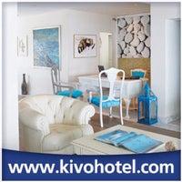 Foto tirada no(a) Kivo Art Hotel & Suites Skiathos por Antonios M. em 9/8/2012