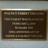 Foto scattata a Walnut Street Theatre da Billy J. il 8/12/2012