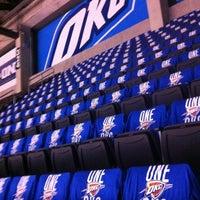 Foto tirada no(a) Chesapeake Energy Arena por Traci M. em 5/31/2012