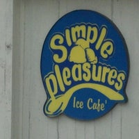 Photo Taken At Simple Pleasures Ice Cafe By Brendan M On 2 19