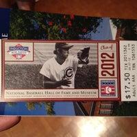 8/7/2012 tarihinde Kyleziyaretçi tarafından National Baseball Hall of Fame and Museum'de çekilen fotoğraf