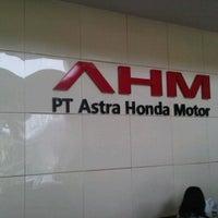 ... Photo taken at Astra Honda Motor (AHM) Cikarang by Candra S. on 9
