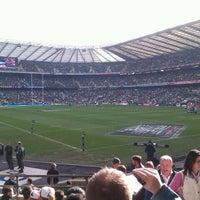 Das Foto wurde bei Twickenham Stadium von Andy H am 2/12/2011 aufgenommen