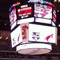 5/13/2012 tarihinde Sandra S.ziyaretçi tarafından Gila River Arena'de çekilen fotoğraf