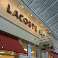 821c91dd2 ... Photo taken at Lacoste Outlet by Ahmad T. on 7 22 2012 ...