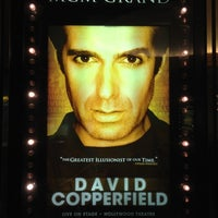Снимок сделан в David Copperfield - MGM пользователем Steve Y. 2/14/2012