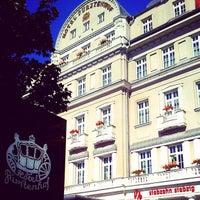 รูปภาพถ่ายที่ Hotel Fürstenhof โดย Christian K. เมื่อ 7/21/2012