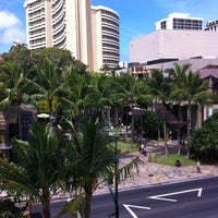 Royal Hawaiian Center Shopping Mall In Honolulu