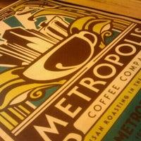 Снимок сделан в Metropolis Coffee Company пользователем Christina 5/30/2011