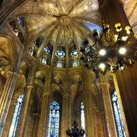 Foto tomada en Catedral de la Santa Cruz y Santa Eulalia por Rick P. el 8/25/2012