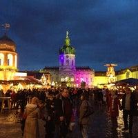 Weihnachtsmarkt Schloss Charlottenburg.Weihnachtsmarkt Vor Dem Schloss Charlottenburg Jetzt Geschlossen