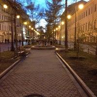 Снимок сделан в Андреевский бульвар пользователем 326 5/5/2012