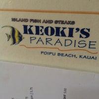 Foto diambil di Keoki's Paradise oleh dustin r. pada 4/12/2012
