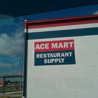 Photo Taken At Ace Mart Restaurant Supply By Chef D On 9 26