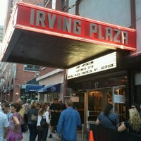 Photo prise au Irving Plaza par Raymond M. le9/13/2011